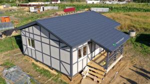 Строительство дома за 30 дней