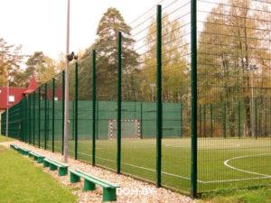 Ограждение для спортивных площадок и футбольных полей