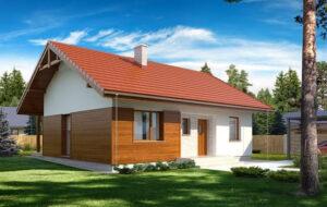 Проекты домов из тепловых блоков под ключ